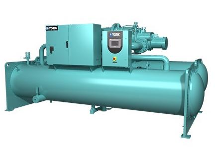 南山全新超高效变频水冷螺杆式冷水机组YVWH